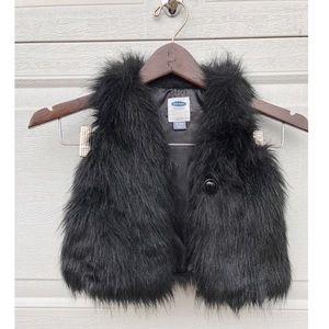18-24 Months faux fur best 🖤